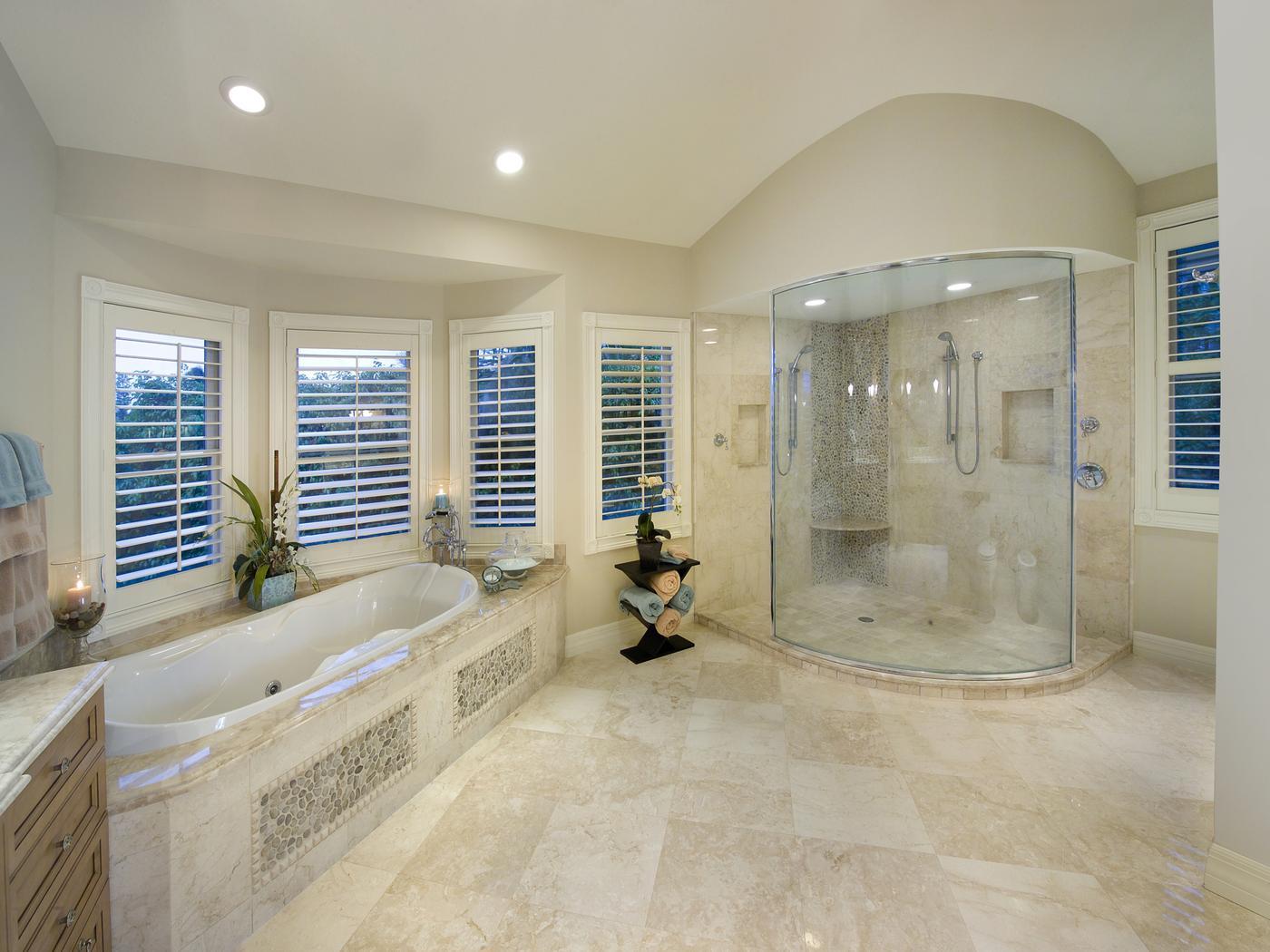 Residential House Plans Portfolio Lotus Architecture Naples - Florida bathroom designs