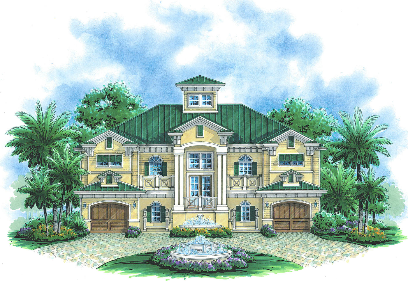 Residential house plans portfolio lotus architecture for Residential home design styles