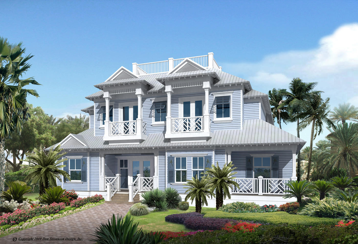 Residential house plans portfolio lotus architecture for Fl home plans