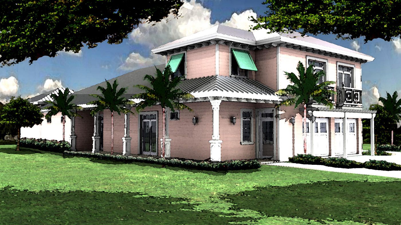 Residential house plans portfolio lotus architecture for Florida house designs