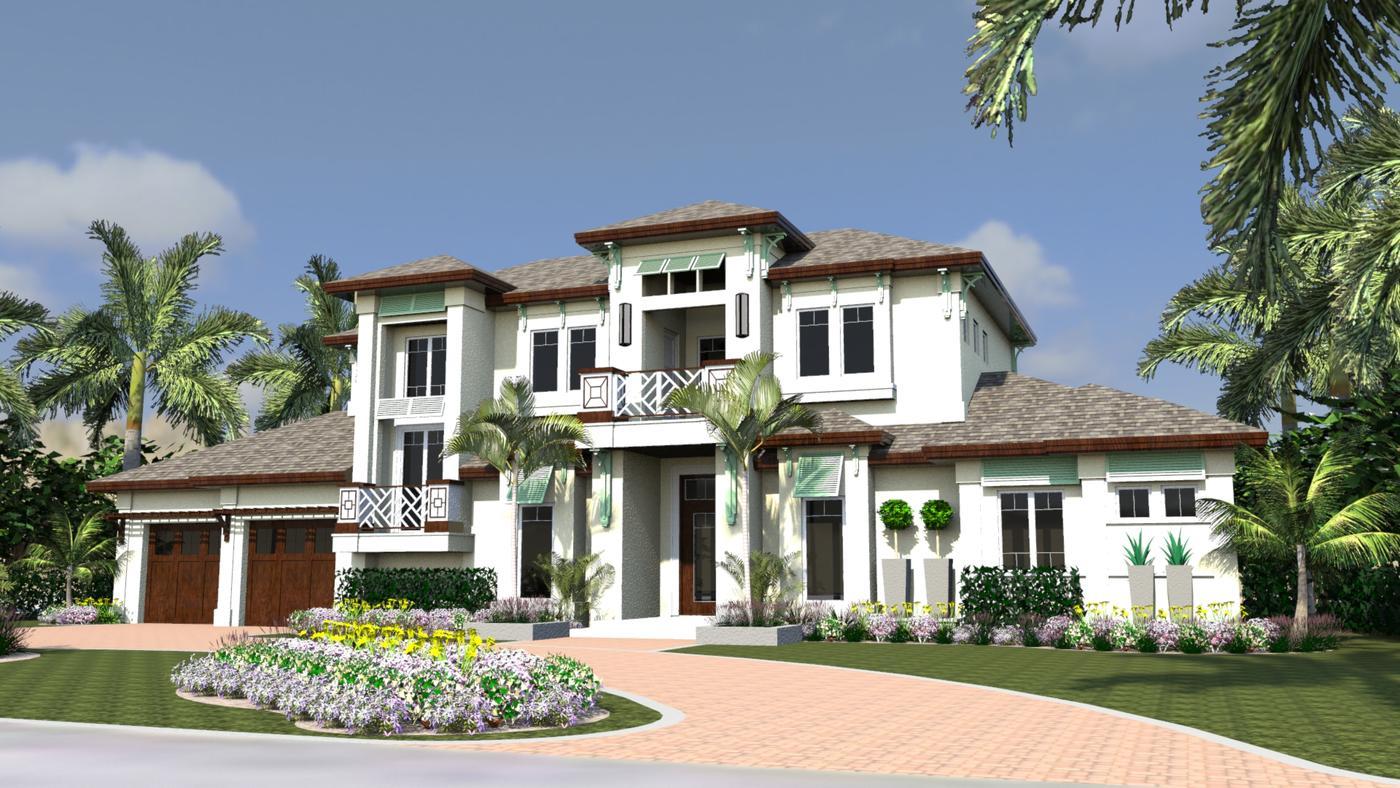 Residential House Plans Portfolio Lotus Architecture Naples