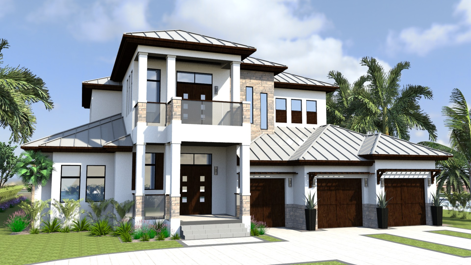 Florida house plans florida house plans cloverdale 30 for Florida house designs